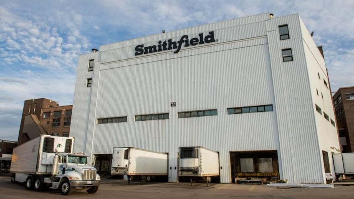 Smithfield Foods in Sioux Falls (file)