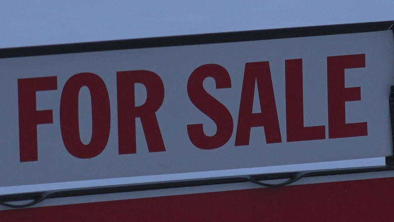 Real estate listing down
