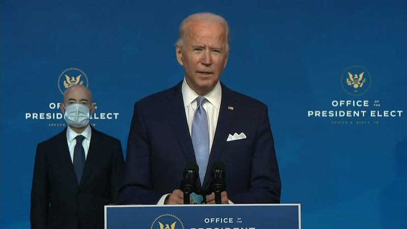 Joe Biden introduces his foreign policy team, as federal agencies start talking to his...