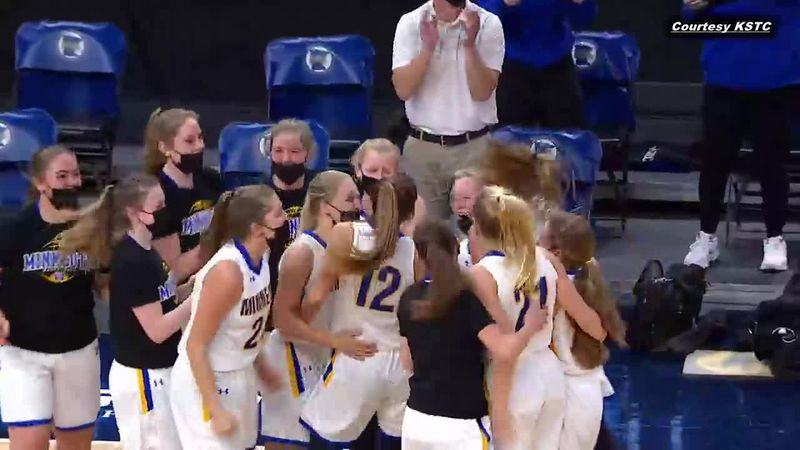 Wins 2021 State A Semifinal over Mountain Iron Buhl 54-53