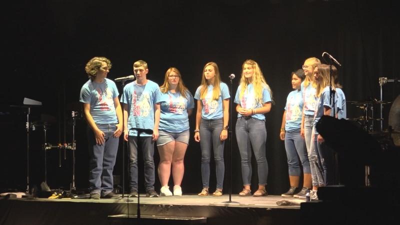 Hill-Beaver Creek Choir opening for Foreigner