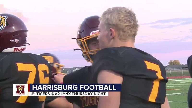 Harrisburg looking forward to battle of unbeatens at Brandon Valley