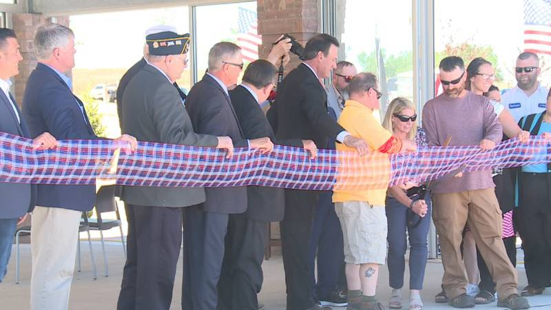 It has been over a year and a half since the initial groundbreaking happened at the veteran's...