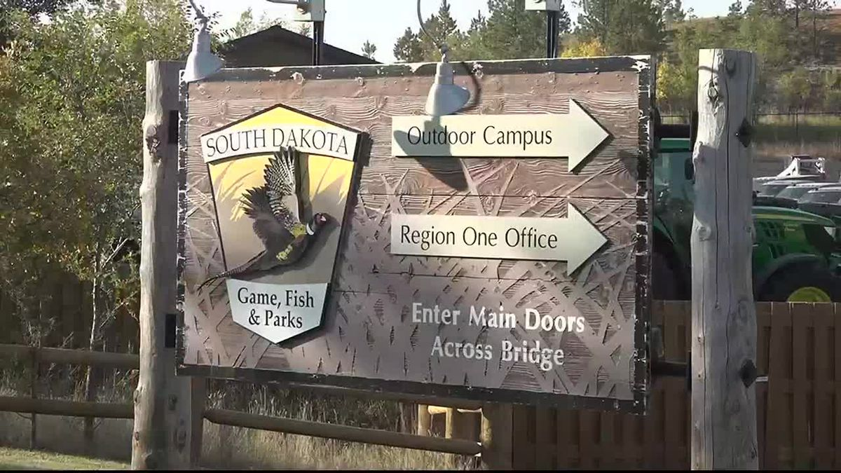 South Dakota Game, Fish and Parks sign (file photo)