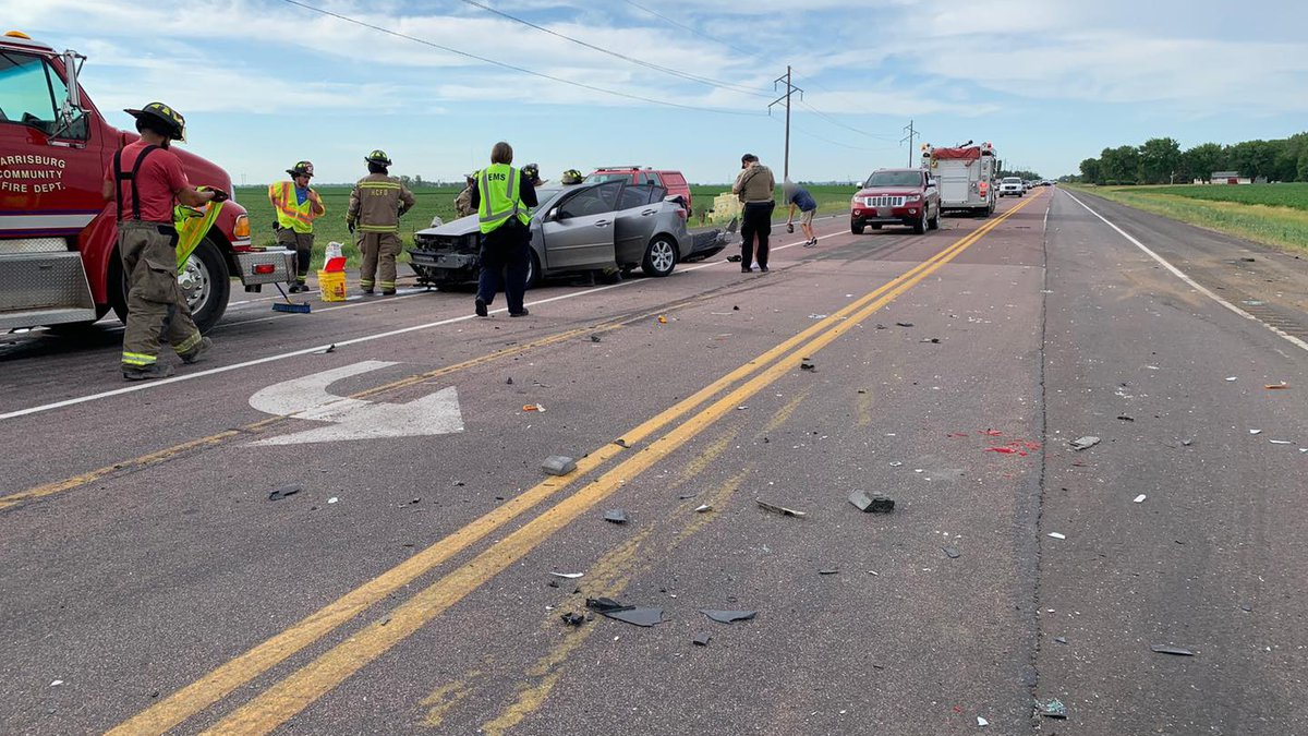 Deputies with the Lincoln County Sheriff's Office said one person was sent to the hospital...