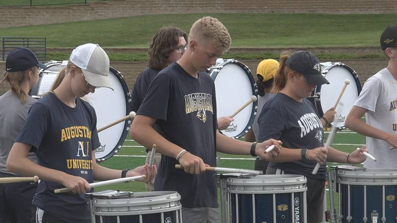The decision to bring back the school's marching band was part of Augustana's 2030 vision and...