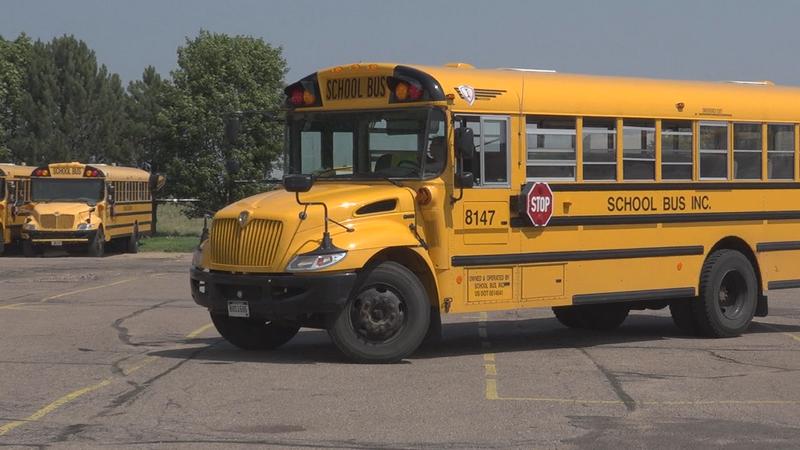 Sioux Falls school bus