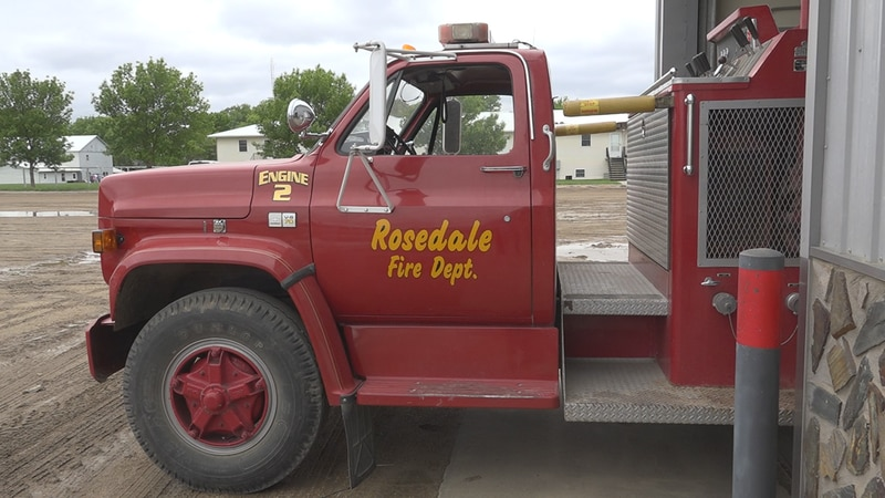 Rosedale fire truck