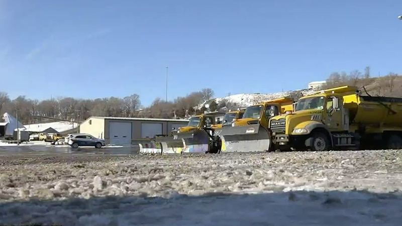 Crews prepare for another winter storm in Sioux Falls