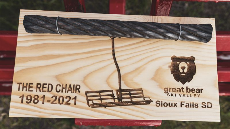 Great Bear Ski Valley will raffle off pieces of the original ski lift to raise money for...