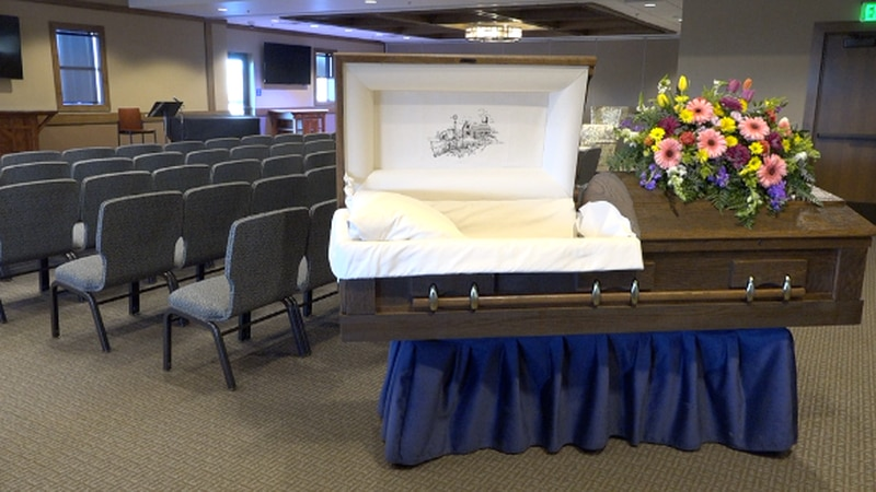 Right now, funeral homes across eastern South Dakota are busy due to COVID-19.