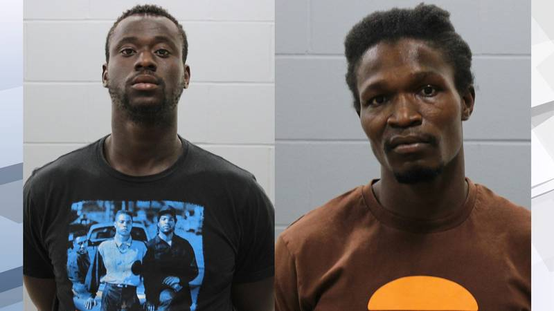28-year-old Jeff Pour and 26-year-old Steven Tuopeh were both charged with aggravated assault.