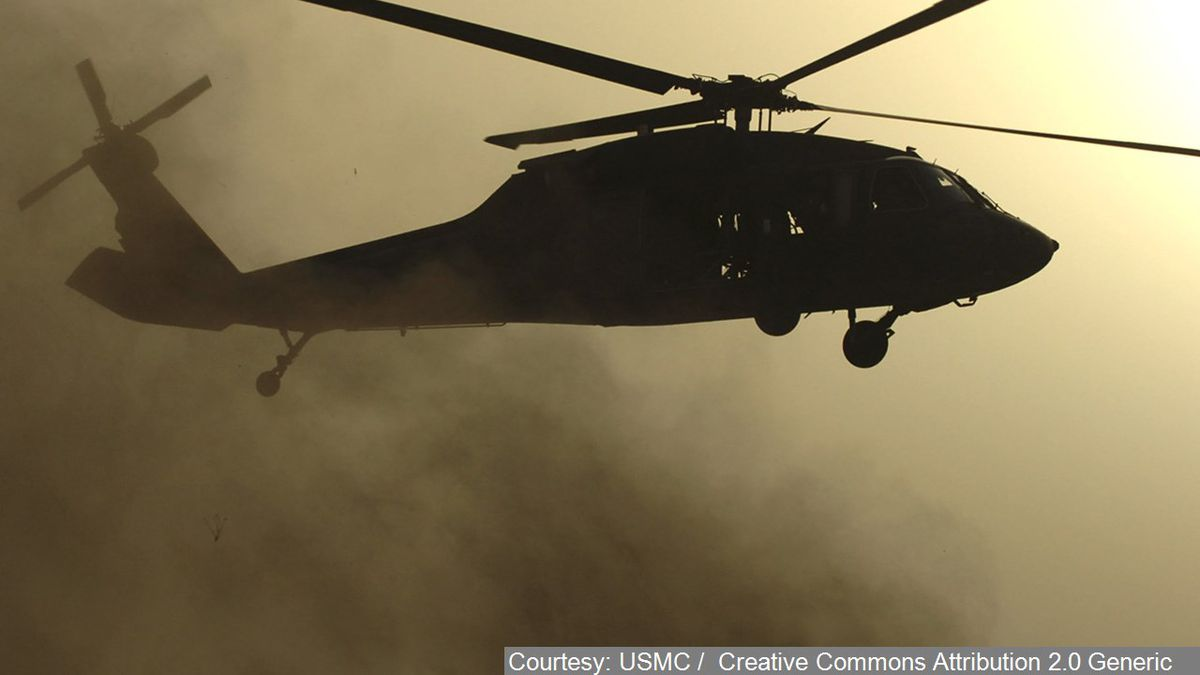 UH 60 Blackhawk - Cropped Photo: Courtesy: USMC / Creative Commons Attribution 2.0 Generic