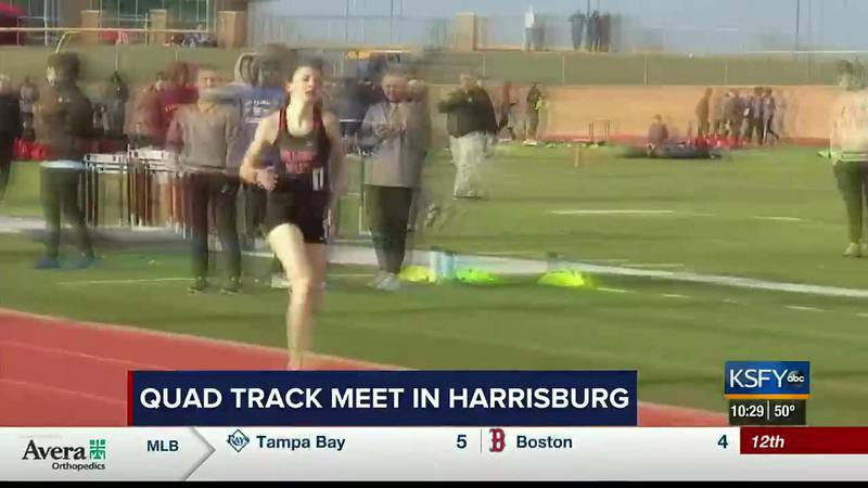 One of the first track & field meets in South Dakota in two years