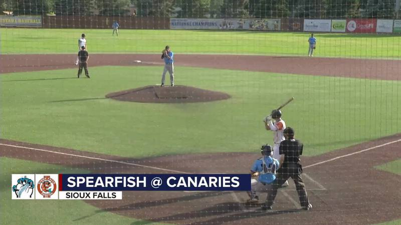 Sunfish fall to Spearfish in 9th inning