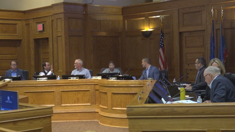 Sioux Falls city council meeting 8-10-21