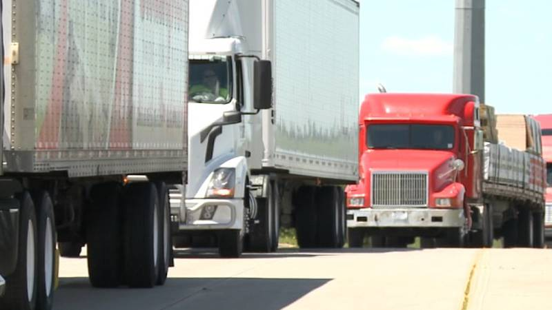 Truck driver shortages around the country have been amplified by the pandemic.