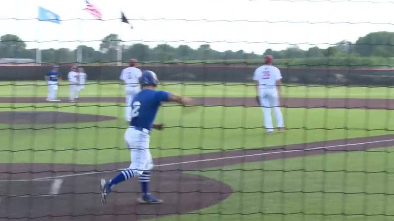 Scores go-ahead and eventual winning run in 6-4 victory over Rapid City Post 22 at State...