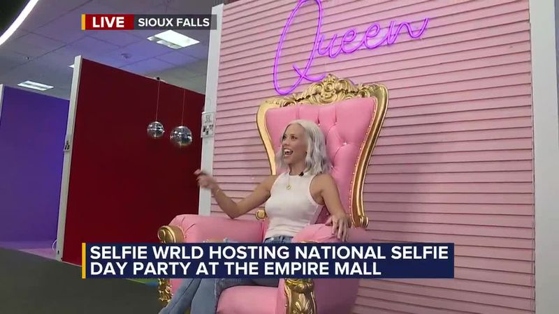 Local business is hosting National Selfie Day party at the Empire Mall.