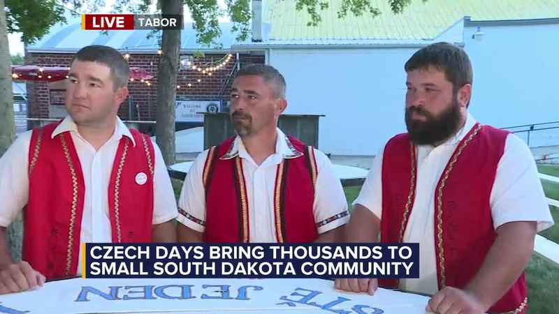 Czech Days brings people from across the world to celebrate Tabor's rich Czech history.