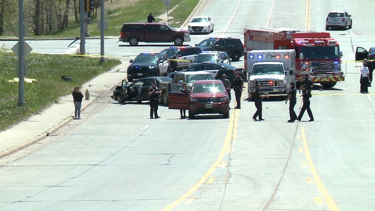 A pedestrian was struck and killed during a multi-vehicle crash in east Sioux Falls Tuesday...