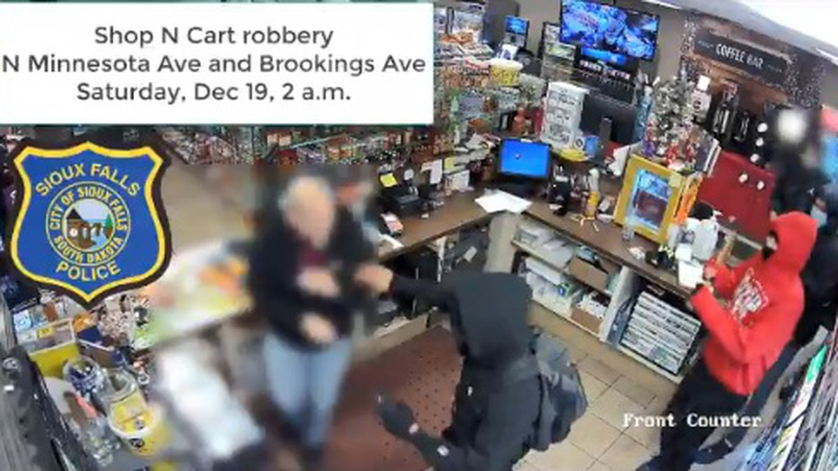 Police released this video of a robbery at the Shop N Cart early Saturday morning. One juvenile...