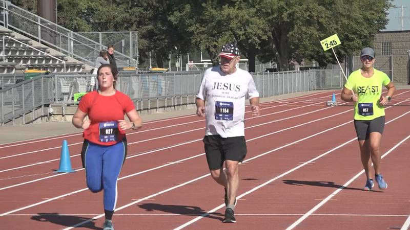 75 year old man conquers Sioux Falls half-marathon