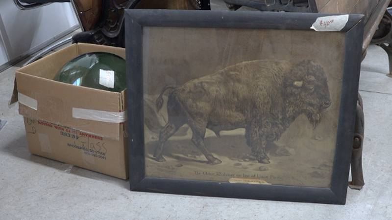 The Brookings County Museum will be holding a 'Gigantic Yard Sale.'