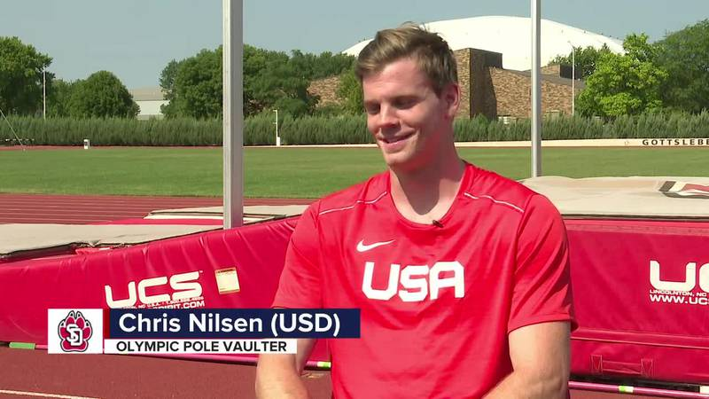 What Chris Nilsen does to relax right before jumping