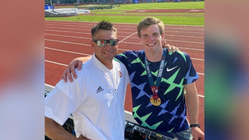 A University of South Dakota alum is vaulting his way to the 2020 Tokyo Olympics. Chris Nilsen...