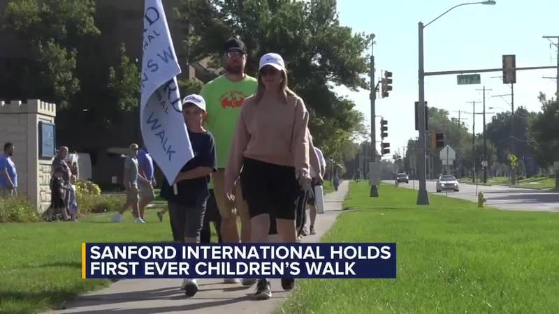 Sanford International holds first-ever children's walk