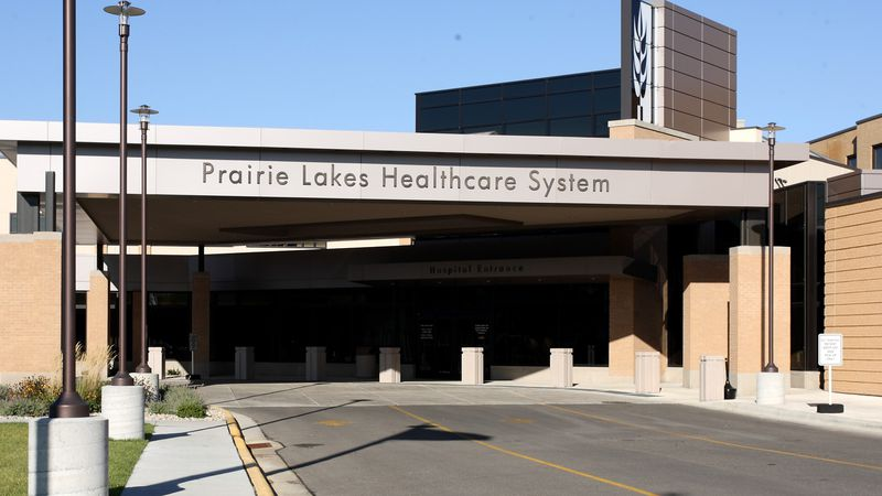 Prairie Lakes Healthcare facility in Watertown. File photo.