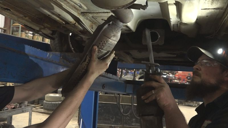 Sioux Falls Police seeing increase in catalytic converter thefts