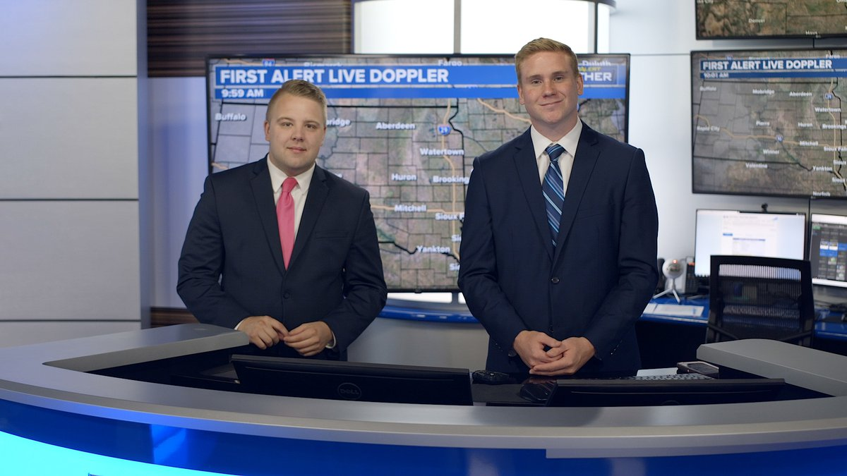 Join Cordell Wright and Meteorologist Austin Haskins weekend mornings at nine beginning...