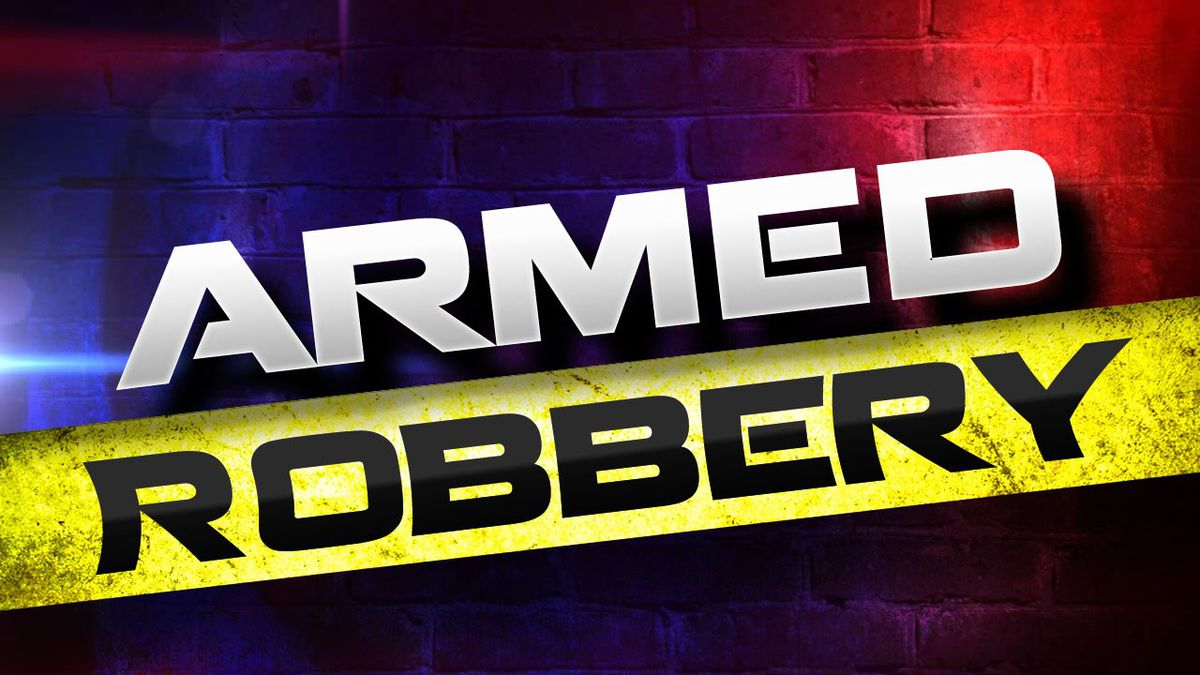 Sioux Falls police said a man entered a business Tuesday morning with a gun and left with cash.