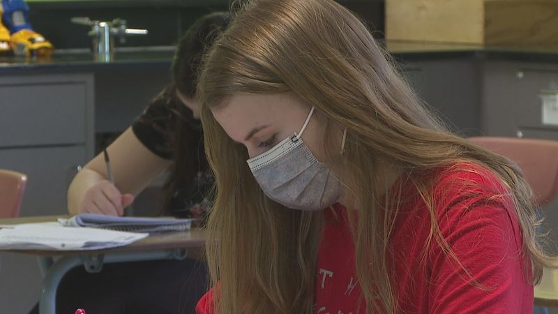 Madison Hulscher keeps school as her top priority as she also enjoys doing extracurricular...