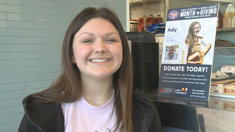 Cancer Survivor Encourages Others to Give