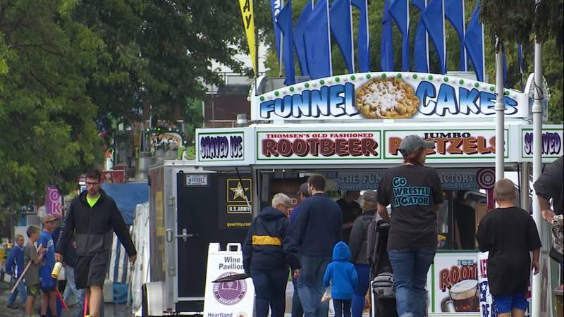 The 2021 South Dakota State Fair kicked off in Huron Thursday.