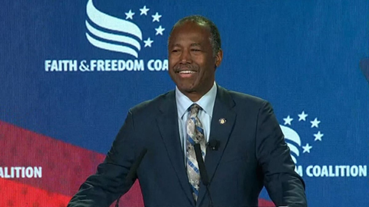 Housing and Urban Development Secretary Ben Carson was cleared of any wrongdoing by the HUD...
