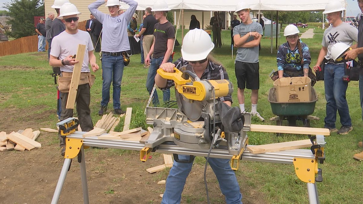Habitat for Humanity of Greater Sioux Falls and Southeast Tech are teaming up to provide more...