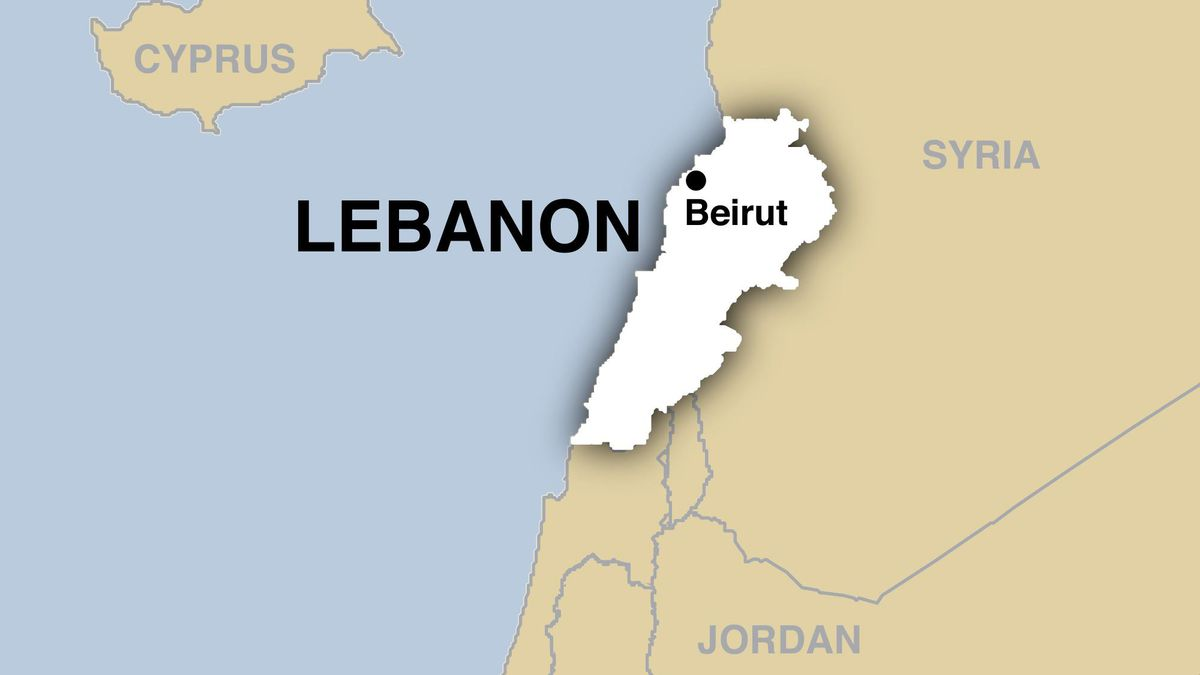 An explosion was reported in southern Lebanon on Tuesday, Sept. 22, 2020.