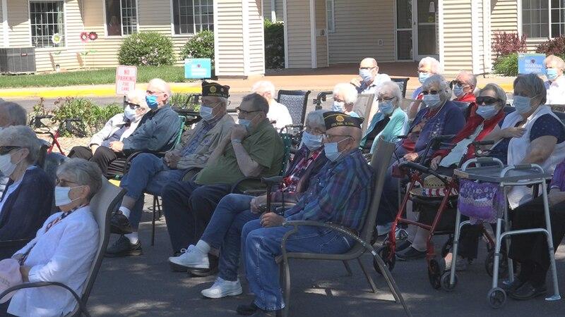 Orchard Hills Memorial Day celebration