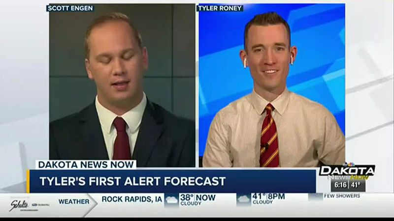 First Alert Meteorologist Tyler Roney's Saturday Night Forecast