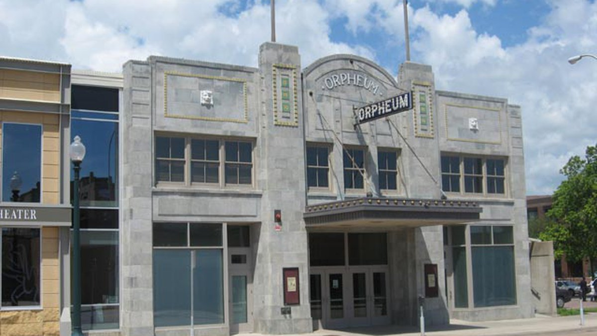 Orpheum Theater in Sioux Falls