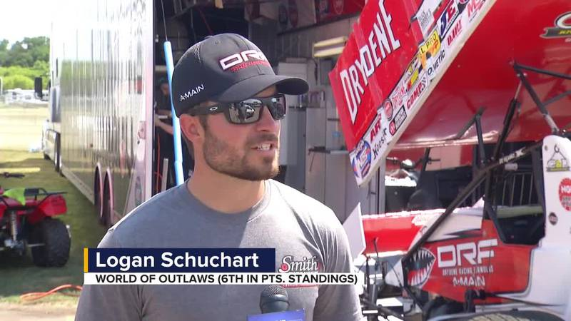 Schuchart says World of Outlaws drivers love coming back to Huset's Speedway