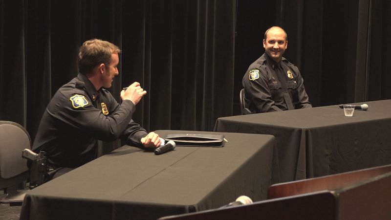 Two candidates are vying to become Sioux Falls police chief