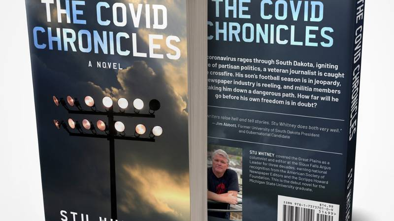 Former Argus Leader writer Stu Whitney has written his first fictional book, 'The Covid...