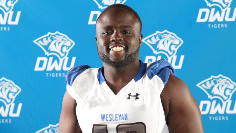 Emmanuel Christopher, who graduated from Roosevelt in 2016 and went on to play for DWU, passed...