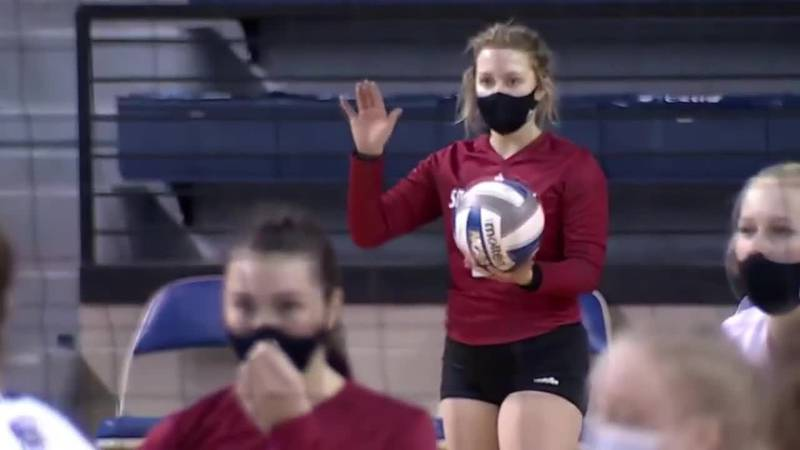 USD junior volleyball player the first in South Dakota history to sign endorsement deal under...