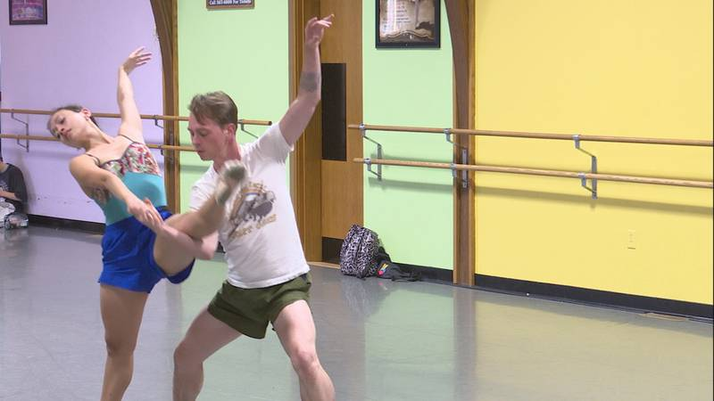 Ten dancers from various dance companies from all over the world will perform in Sioux Falls...